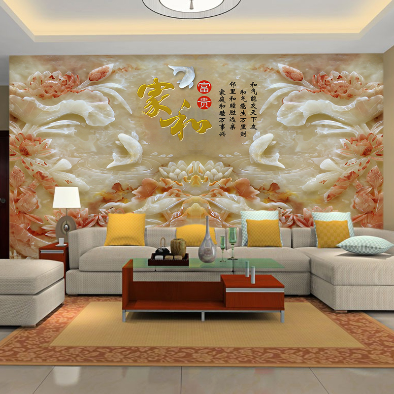 Large murals tv background wallpaper wallpaper living room 3d stereoscopic wallpaper modern minimalist decorative wall covering wall covering wallpaper
