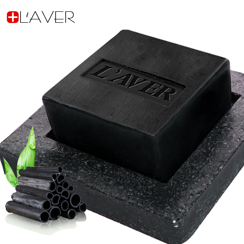 Laver julep charcoal soap oil soap oil control moisturizing deep cleansing facial pores