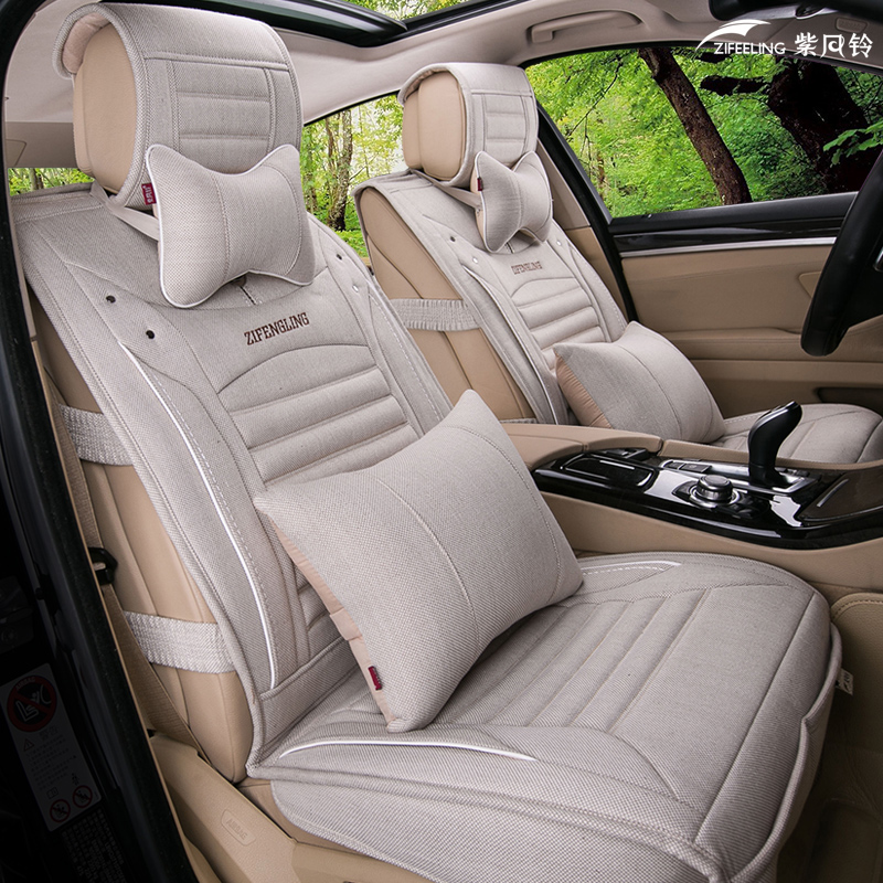 Lavida car seat cushion lavida new sylphy lavida four seasons general seat cushion fabric cloth cushion spring and summer arts