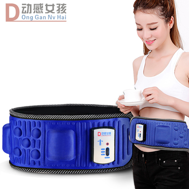 Lazy slimming machine slimming belt rejection of fat reduction slimming closing stomach abdomen body sculpting machine shiver machine rejection of meat and fitness equipment