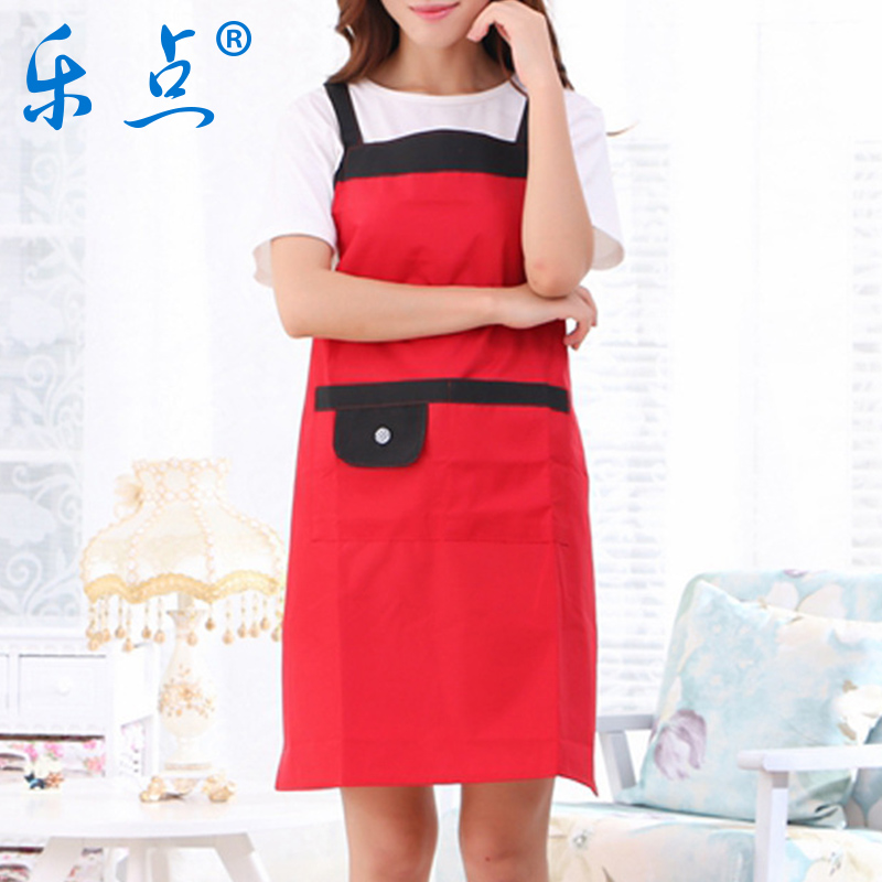 Le point sling sleeveless waterproof gowns kitchen aprons free shipping oil stain aprons korean fashion clothes