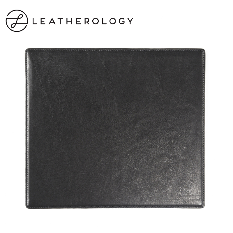 Leatherology table with leather cowhide leather mouse pad mouse pad desk pad pad wear little thicker skid pad protection pad
