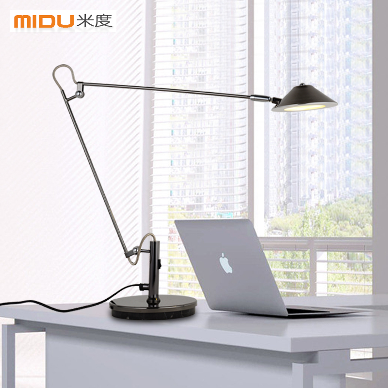 Get Ations Led Work Lamp Eye Students Reading Study Bedside American Long Arm Folding Retractable