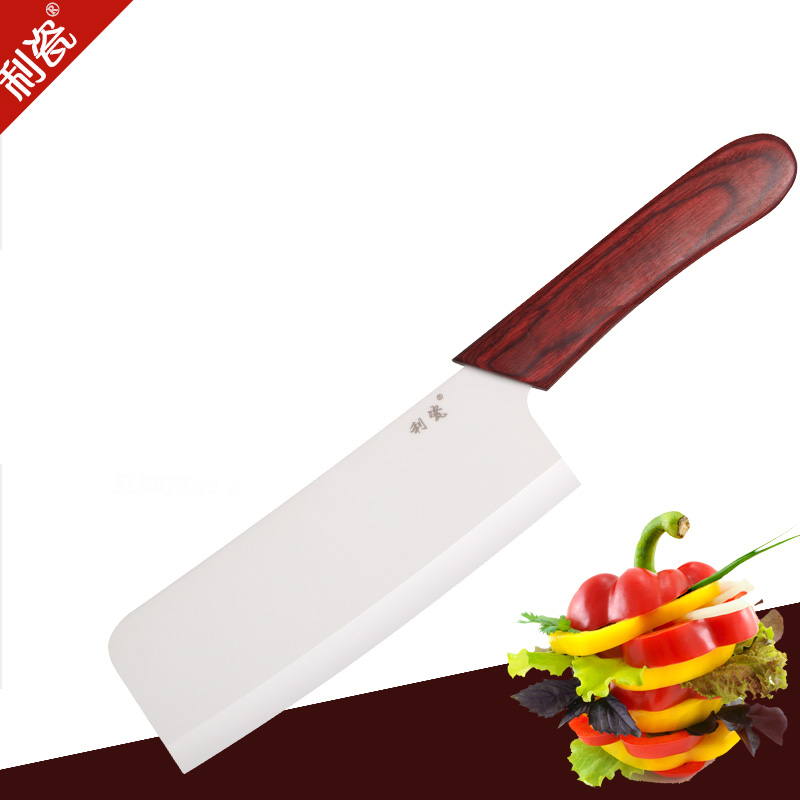 Lee porcelain ceramic knives ceramic kitchen knives ceramic knife with wooden handle color 100粒antioxidant chinese ceramic knife does not rust