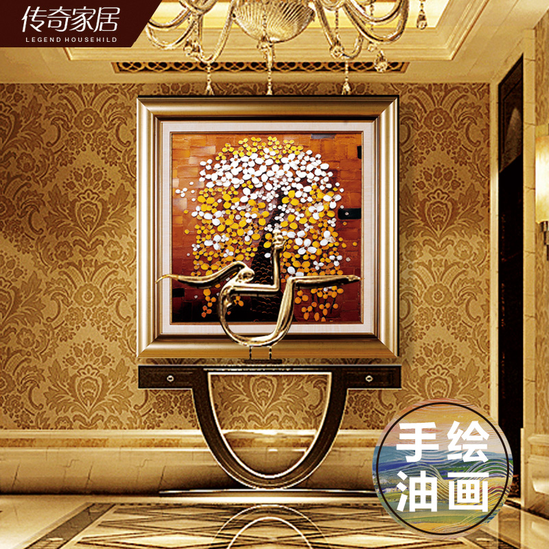 Legendary decorative painting modern european painting decorative painting ornaments painted decorative painting framed painting decorative painting minimalist painting