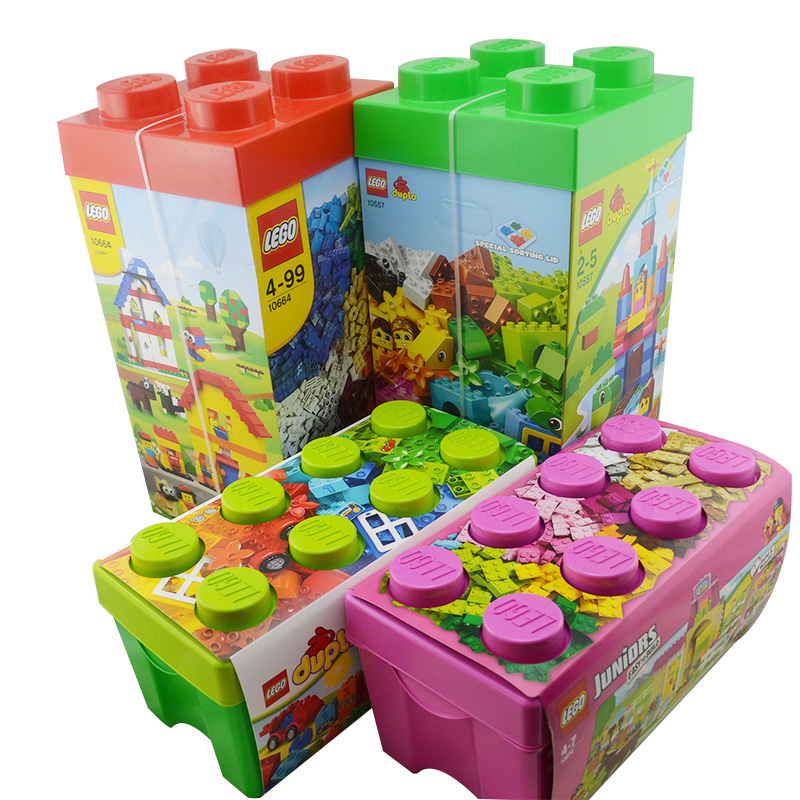 Lego lego building blocks children fight inserted blocks bottled yi zhi building blocks of large particles small particles assembling toys free shipping