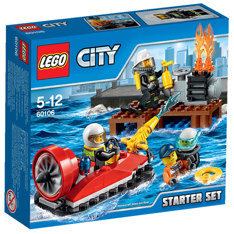 Lego lego-city series city-city fire starter kit LEGC60106