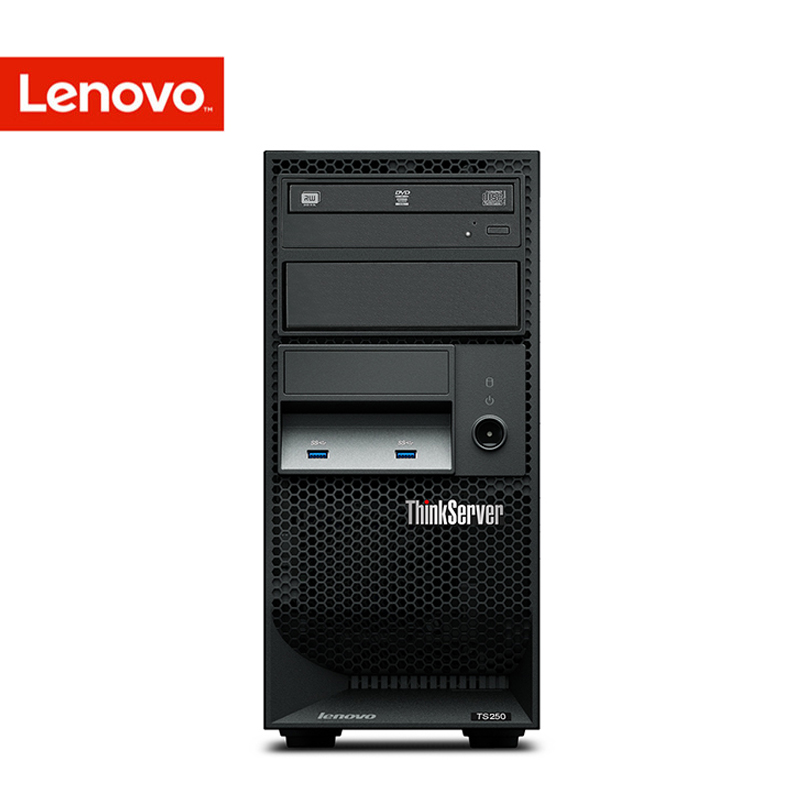 Lenovo/lenovo thinkserver TS250 i3 e3 G4400 tower server host computer