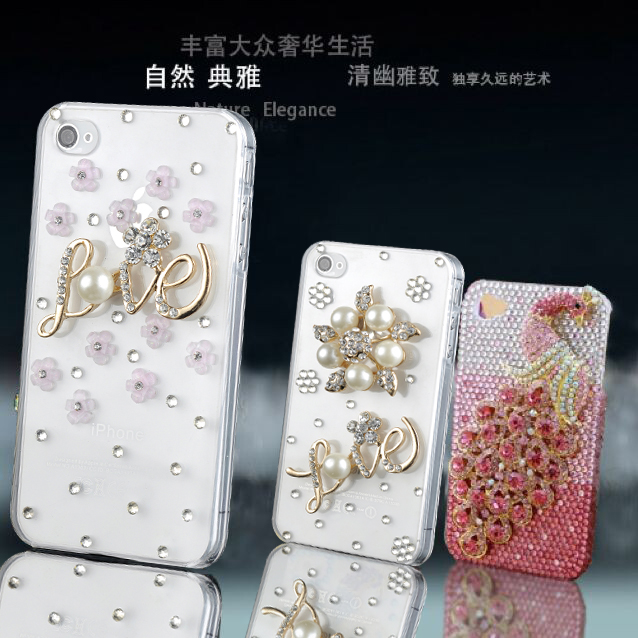 Lenovo s680 s880 s720 s720i a798t rhinestone mobile phone shell custom diamond protective shell love