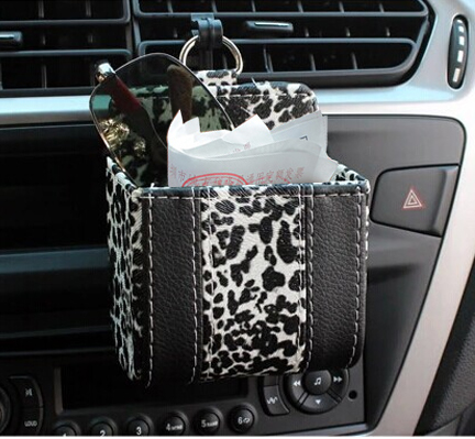 Leopard car car car outlet car phone box car glove box car cell phone pocket cell phone pocket