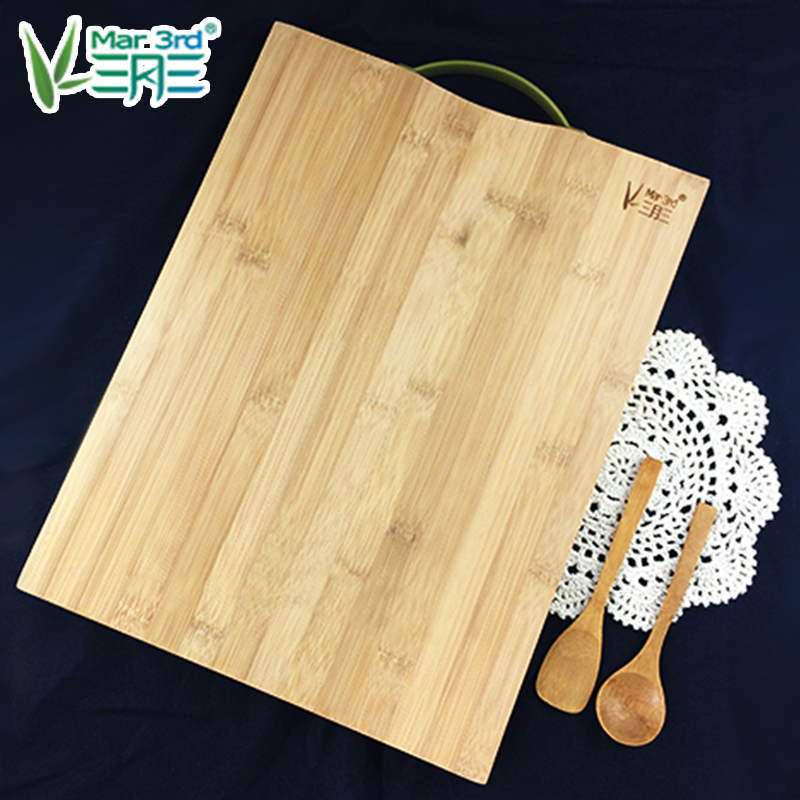 Letter dated March 3 from the haftplatte chopping bamboo cutting board bamboo cutting board rectangular cutting board chopping blades chopping board panel household kitchen