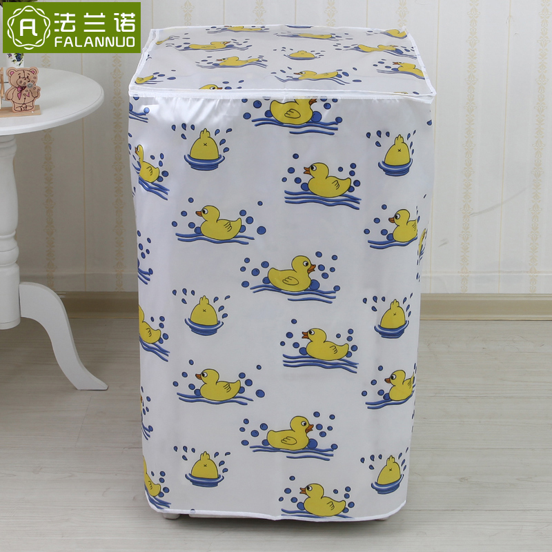 Lg siemens haier america's little swan automatic washing machine cover waterproof sunscreen washing machine drum roll cover cloth