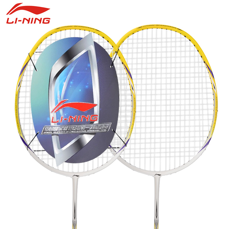 Li ning official authentic full carbon family a720 series badminton racket single men and women