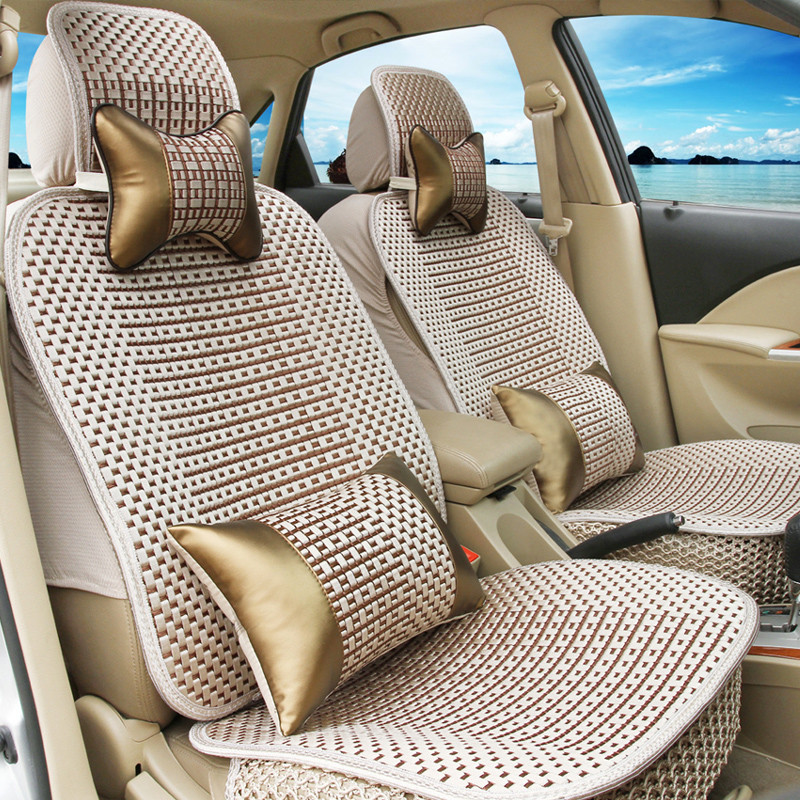 Liangdian summer ice silk car seat cushion whole new jaguar xf jaguar xj xe F-PACE s-type