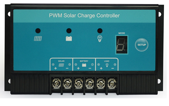 Lightning solar controller solar power system controller 30a 12 v/v don't 30a automatic identification
