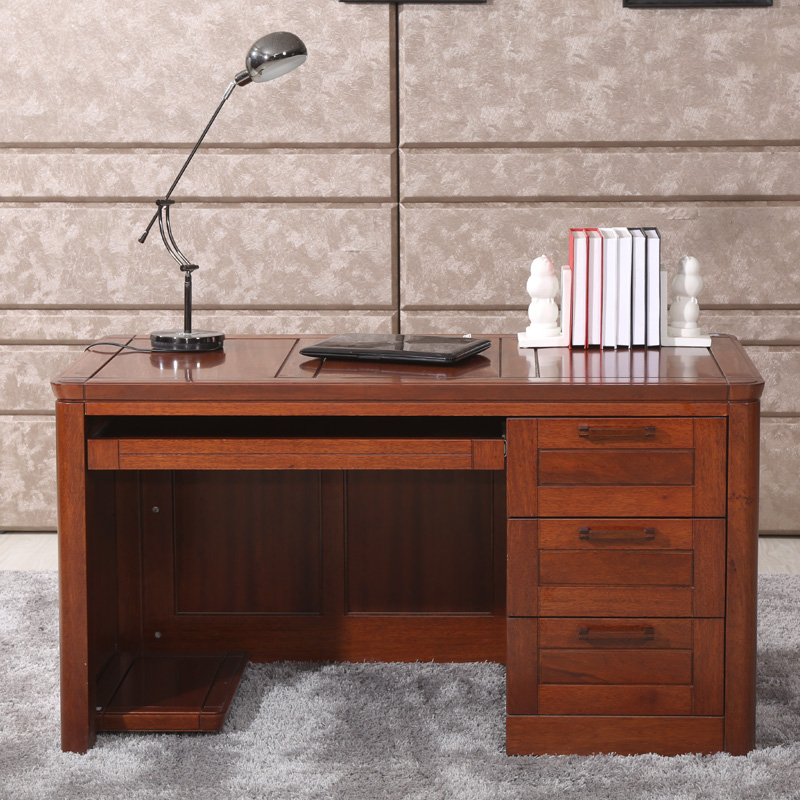 Liking furniture chinese wood end home begonia wood furniture computer desk desk desk desks