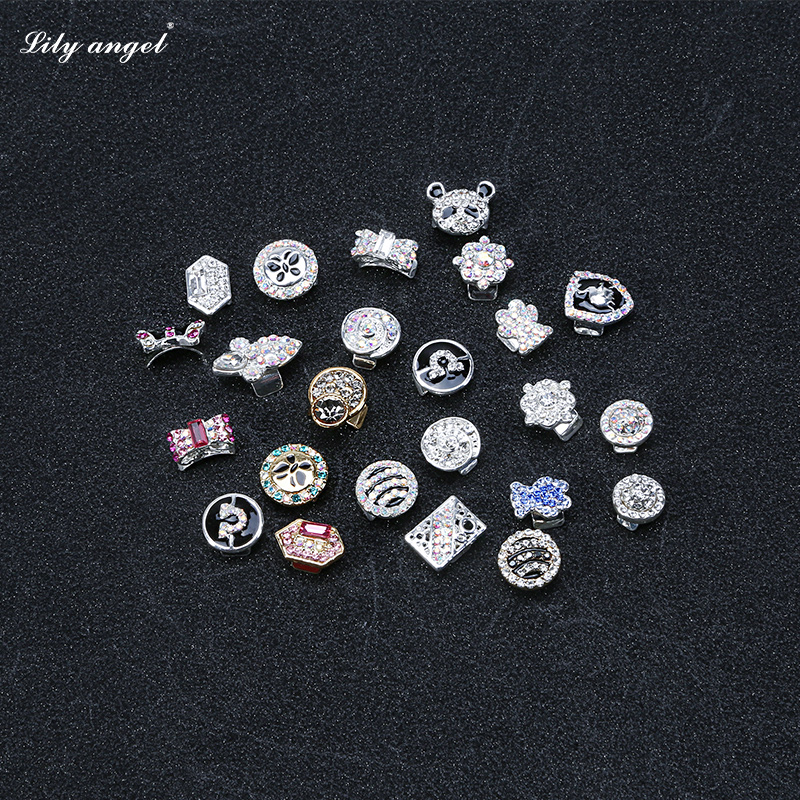 Lily ãangel transfer beads gold plated jewelry nail decals nail stickers diamond jewelry wholesale 431-454 #