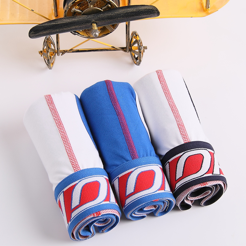 Limited edition gift boxes cotton men's underwear cotton pants youth autumn new comfortable breathable summer tide shipping