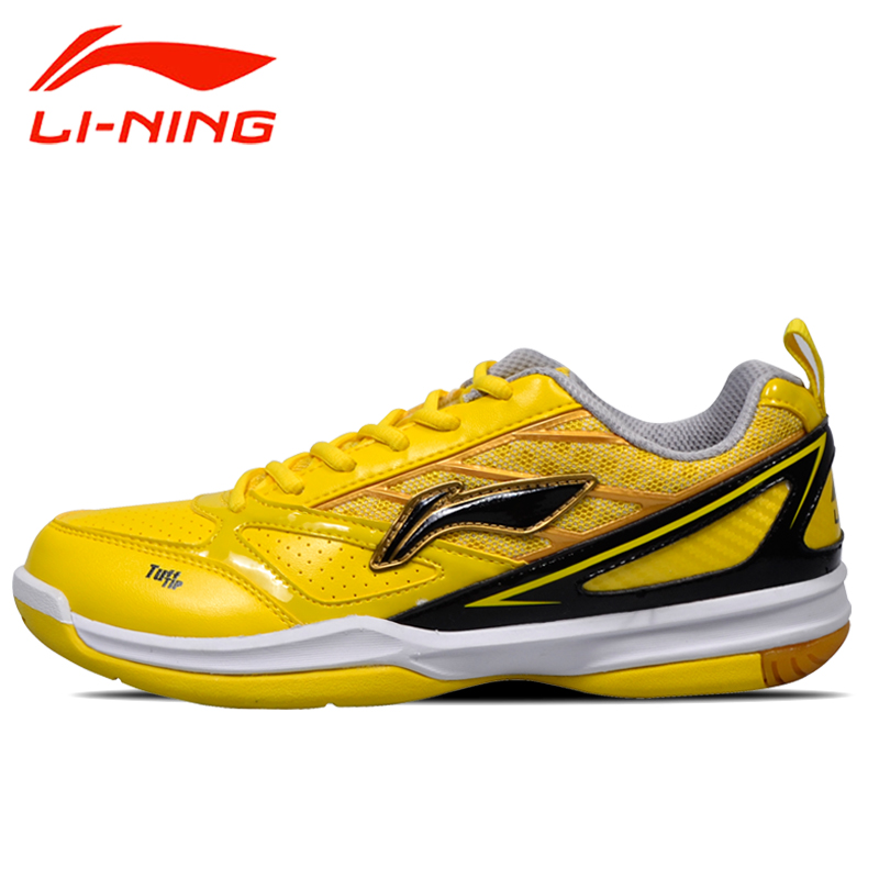 Lining li ning badminton shoes authentic men's badminton training shoes slip resistant athletic shoes sneakers