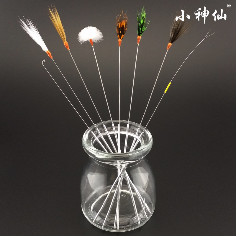 Little fairy ear tool feather stick needles aluminum tone stick crane feather hair stick hair sticks hair ponytail taoer duo ear ring Tools