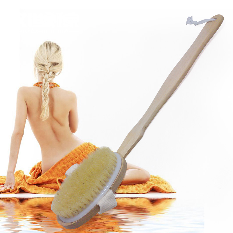 Liu shi han skillet bath brush chopping brush cuozao detachable brush bristle bath rub shipping