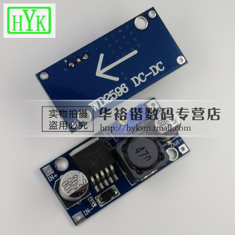 China Lm2596 Buck Converter Shopping Variable Power Supply Circuit Together With Dc Get Quotations Lm2596s Module 3a Adjustable Regulator