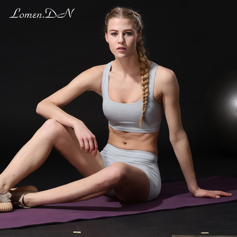 Lomen. the dxi1200 ms. no rims gather bra sports bra shock vest summer paragraph piece suit
