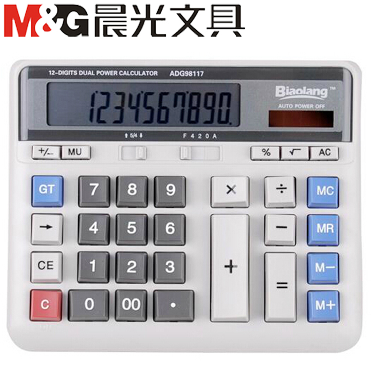 Long dawn standard calculator adg98117 business office desktop desktop computers solar tuba shipping