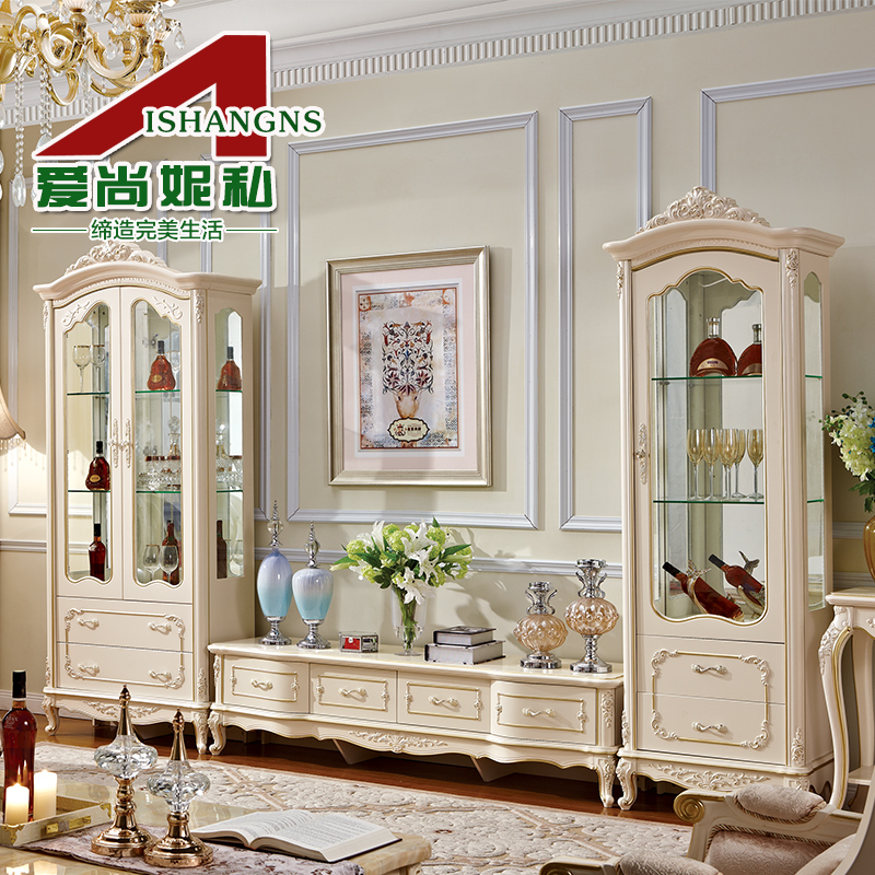 Love is still ni private furniture quality european tv cabinet tv cabinet storage cabinet double door single door wine cooler wine cabinet 901