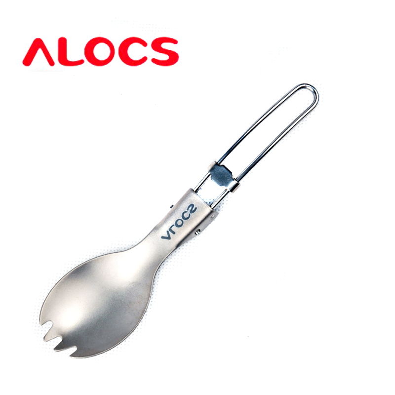 Love road off titanium spork titanium ultralight titanium health and safety of titanium alloy spoon tableware tw-109