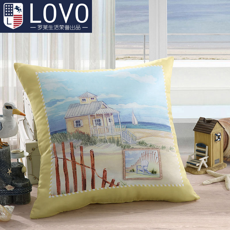 Lovo carolina textile company gosklno vacation series cushion pillow cushion