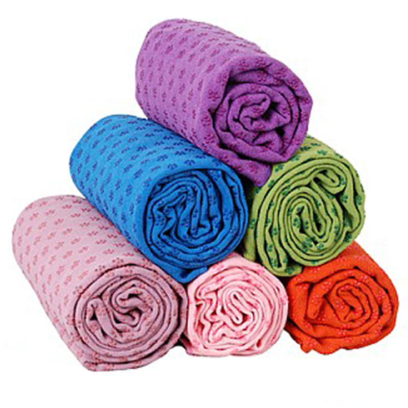 Lu yilan yoga mat increasingly thick blanket slip yoga towel yoga shop towels lengthened fitness bedding blanket genuine