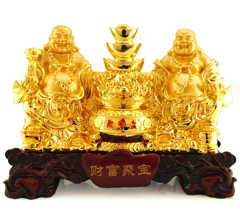 Lucky buddha buddha laughing buddha maitreya buddha ornaments large cornucopia feng shui home decorations office furnishings