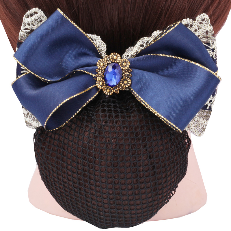 Lulu treasure sapphire new career head flower korean version of the retro mesh flower wholesale wangdou yu-2444
