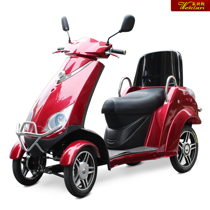 Luxury electric bike elderly four elderly scooter electric tricycle 916