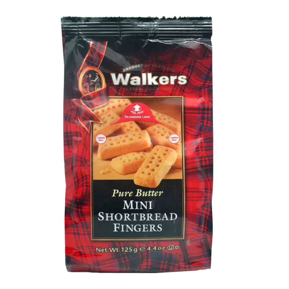 [Lynx supermarket] british imports zero food phyllo volks finger yellow oil cracker 125g/ Bags