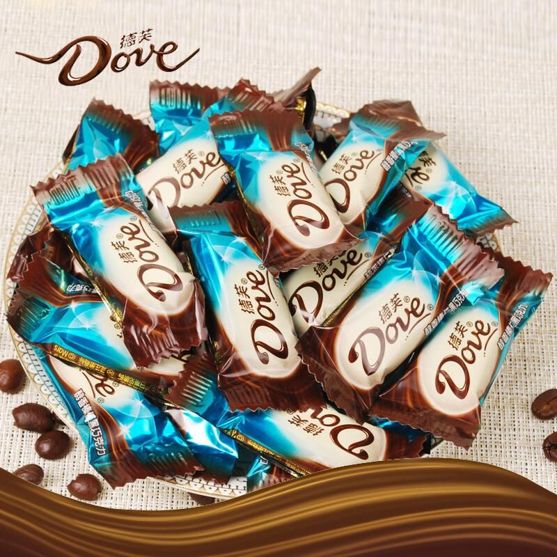 [Lynx supermarket] dove chocolate hazelnut dark chocolate bulk candy snack