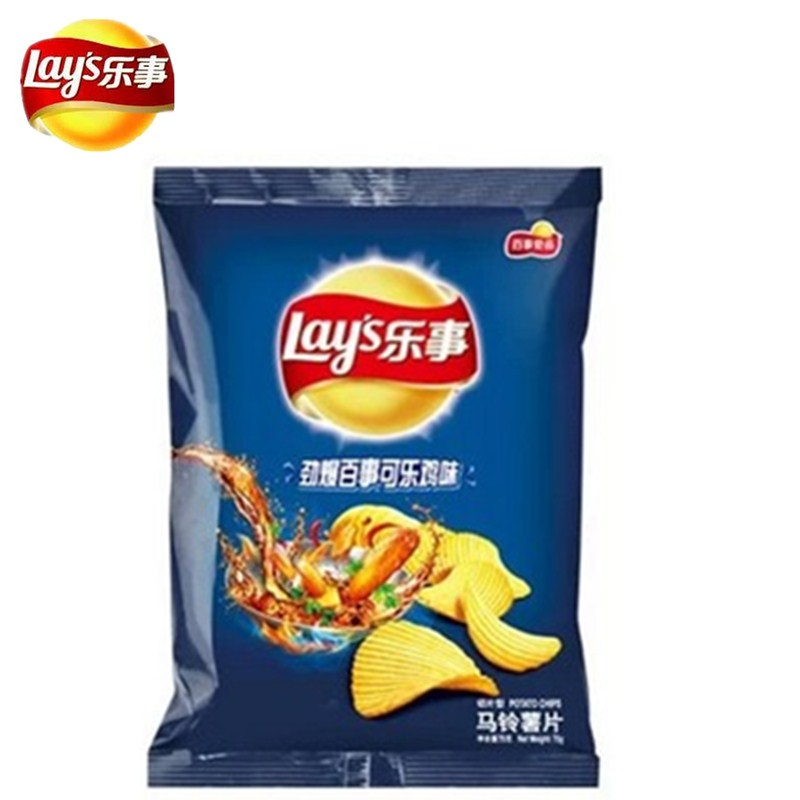[Lynx supermarket] lay's potato chips and best g pack of pepsi cola chicken flavor leisure zero food to replace the old and the new
