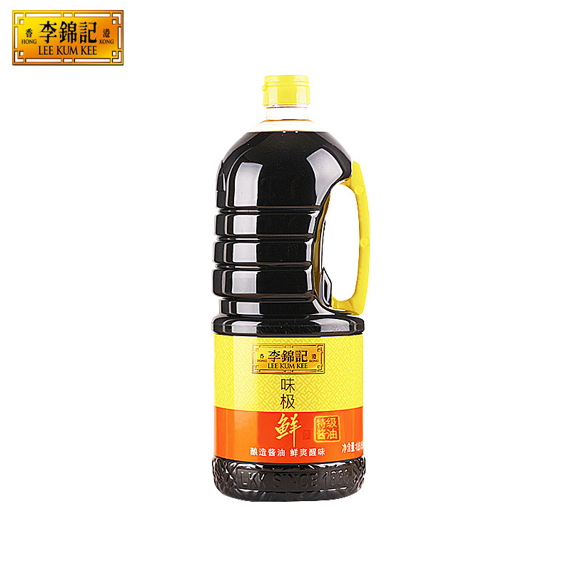 [Lynx supermarket] lee kum kee premium taste very fresh soy sauce 1650 ml soy sauce salad cooking