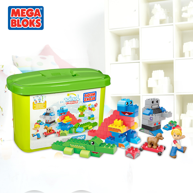 [Lynx supermarket] mgm unlimited imagination baby toy building blocks of particles in the kai meng gift 100 100粒CYR23