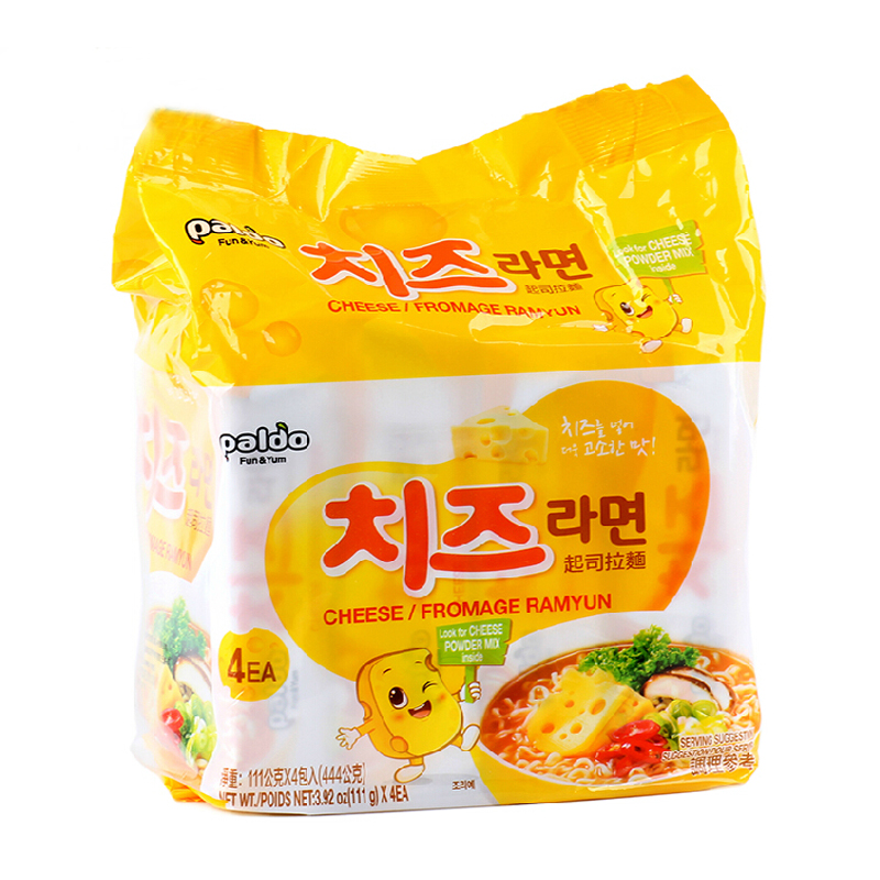 [Lynx supermarket] south korea imported paldo/eight imperial cheese ramen 444g parties will face noodle