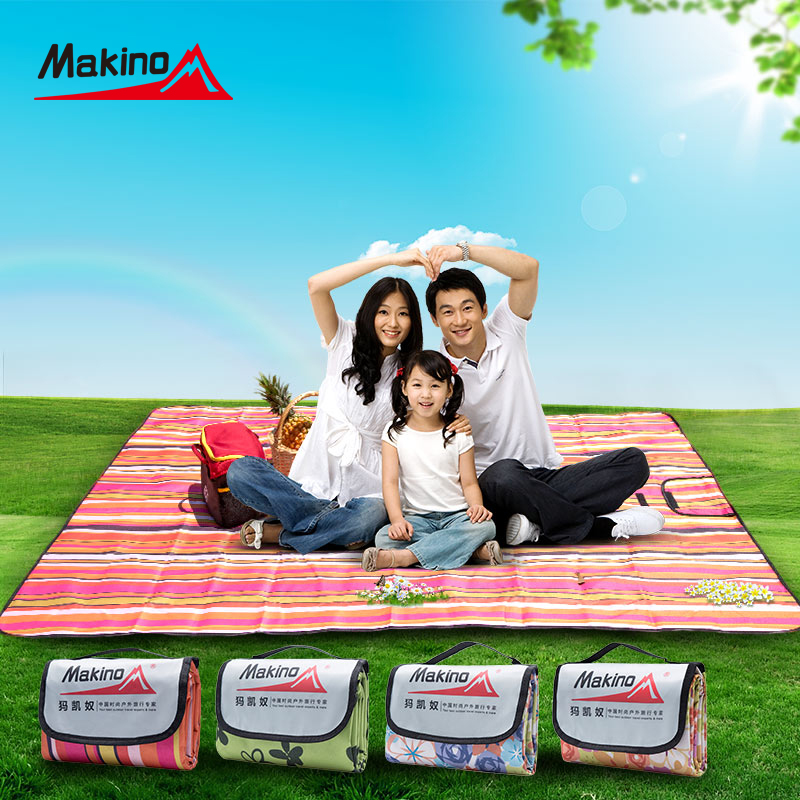 Ma kai slave outdoor picnic mat outdoor camping tent sleeping pad moisture pad thick mats 2 m