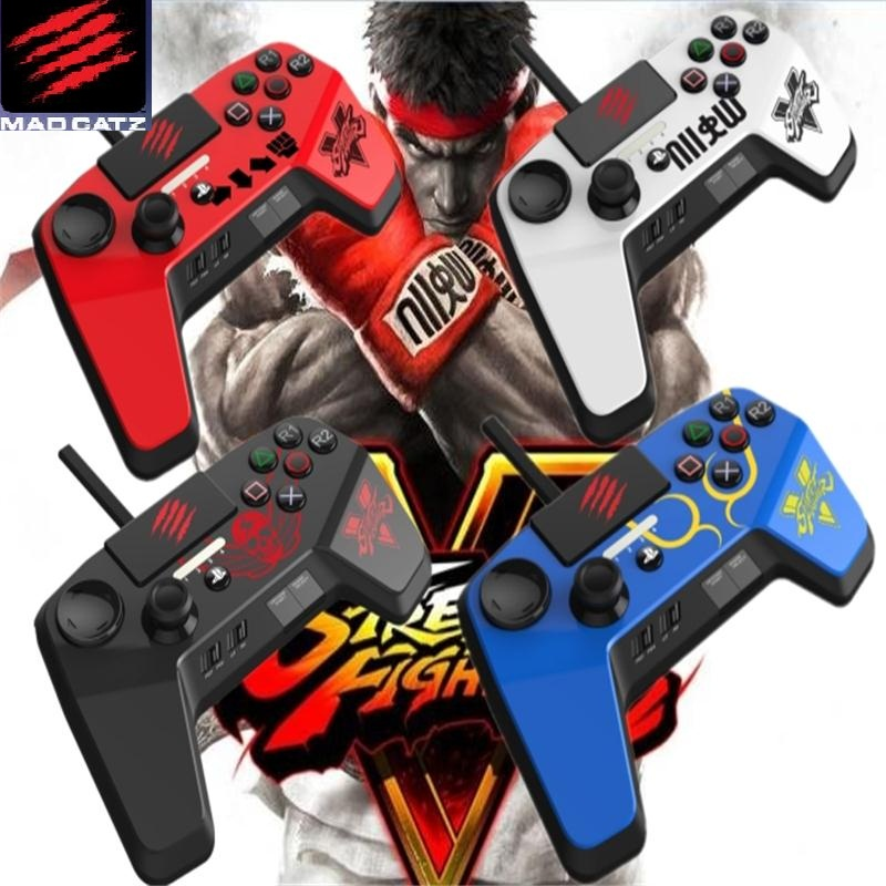 Mad catz north american lion pc/ps4/ps3 street fighter 5 upgraded version of the professional fighting game controller bnm