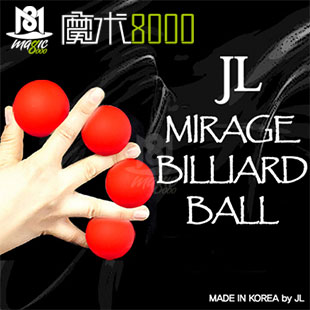 Magic 8000 quadripartition jl series ball becomes a ball korea imported genuine cool stage magic props