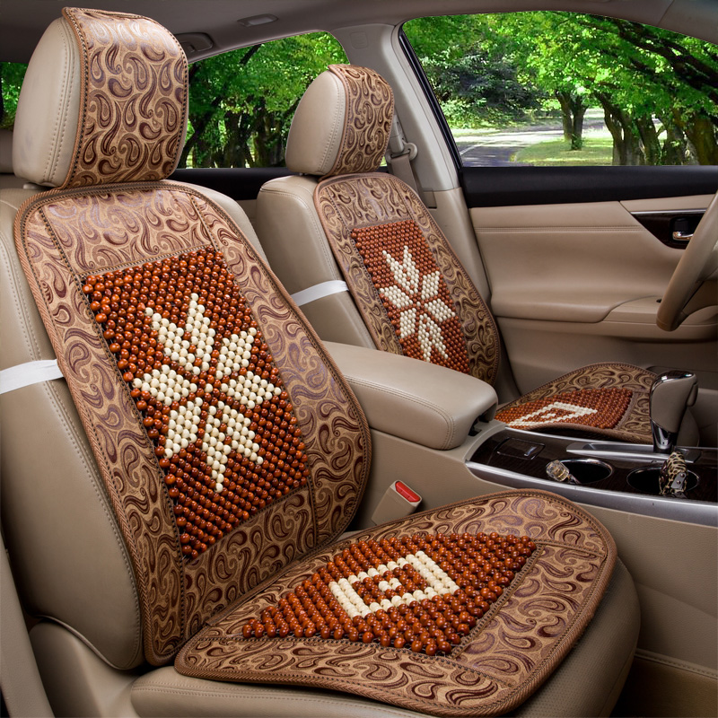 Magic speed s3 s6 summer wooden bead seat cushion deputy driver's seat cushion monolithic liangdian breathable bamboo cushions