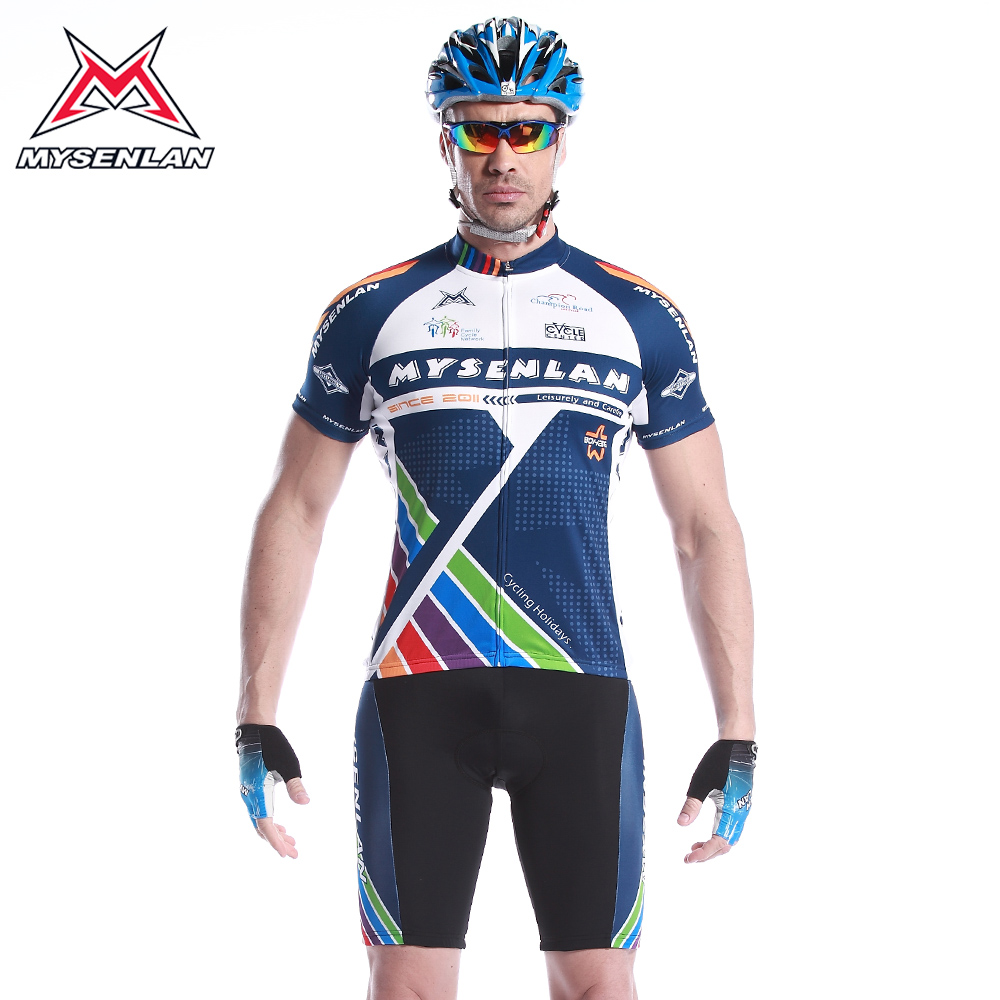Mai senlan choi road 2 short sleeve jersey pants spring and summer clothes suit male bike clothing cycling equipment