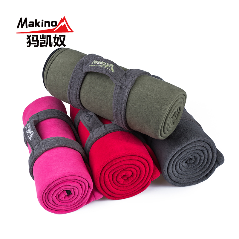 Makino/ma kai slave outdoor camping adult fleece sleeping bag envelope style sleeping bags in autumn and winter spring and summer tourism