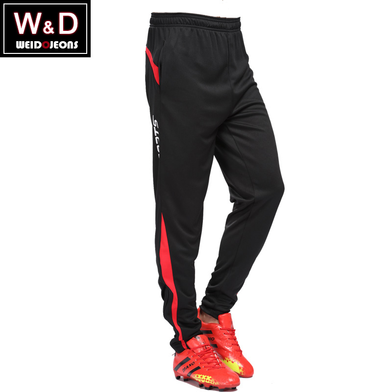 Male football pants leg pants received football training pants riding pants spring and summer thin section running step pants casual sports trousers
