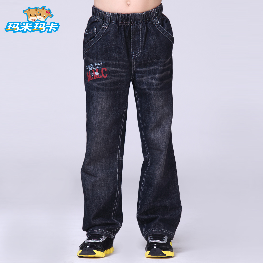8877967d Get Quotations · Mamie maca kids 2016 children's jeans denim trousers male  in spring and autumn boy jeans denim