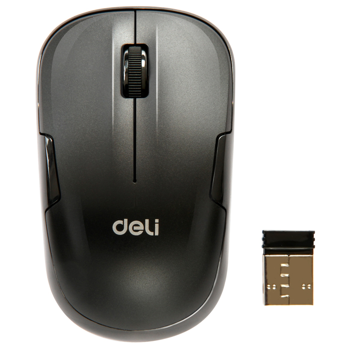 Many provinces shipping deli 3713 silent mouse wireless mouse wireless gaming mouse usb mouse